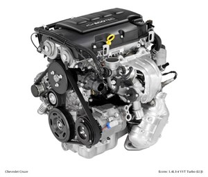 1.4 LITER TURBOCHARGED ECOTEC, 4-CYL, GM ENGINE